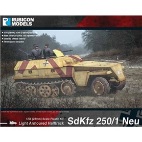 Rubicon Models 1:56 Sd.Kfz.250/1 Neu - LIGHT ARMOURED HALF-TRACK
