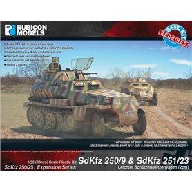 Rubicon Models 1:56 Zestaw dodatków Sd.Kfz.250/251 EXPANSION SET - Sd.Kfz.250/9 AND Sd.Kfz.251/23 LEICHTER SCHUTZENPANZERWAGEN