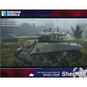 Rubicon Models 1:56 M4A2(76)W Sherman