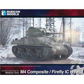 Rubicon Models 1:56 M4 Sherman Composite / Firefly Hybrid
