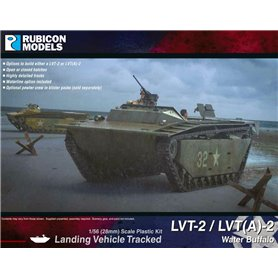 Rubicon Models 1:56 LVT-2 / LVT(A)-2 Water Buffalo