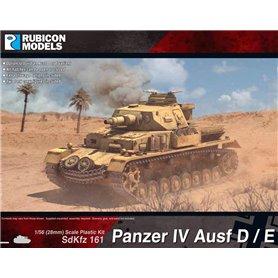 Rubicon Models 1:56 Panzer IV Ausf D/E