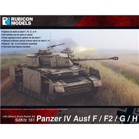 Rubicon Models 1:56 Panzer IV Ausf F/F1/G/H