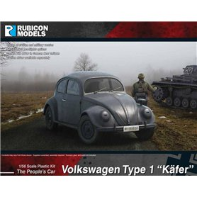 "Rubicon Models 1:56 Volkswagen Type 1 ""Kafer"""