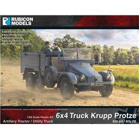 Rubicon Models 1:56 Krupp Protze Kfz 69/70 6x4 Truck
