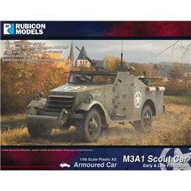 Rubicon Models 1:56 M3A1 Scout Car (Early & Late production)