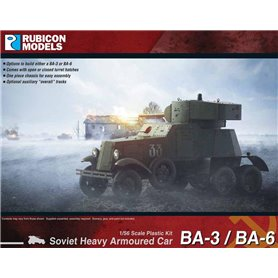 Rubicon Models 1:56 BA-3 / BA-6 Heavy Armoured Car