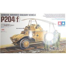 Tamiya 1:35 P.204(f) - GERMAN ARMOURED RAILWAY VEHICLE