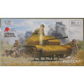 IBG 1:35 TKS Tankette z działem 20mm