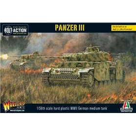 Bolt Action Czołg Pz.Kpfw.III Ausf.J - GERMAN MEDIUM TANK
