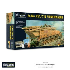 Bolt Action Pojazd pancerny Sd.Kfz.251 Ausf.D Pionierwagen