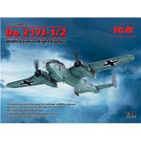 ICM 48272 Dornier Do-217J-1/2 WWII German Night Fighter