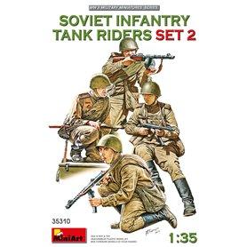 Mini Art 35310 Soviet Tank Riders (Set 2)