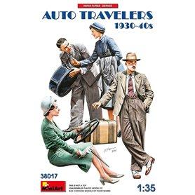 Mini Art 38017 Auto Travelers 1930-40s