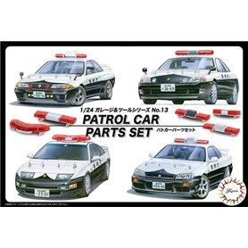 Fujimi 116464 1/24 Patrol Car Parts Set