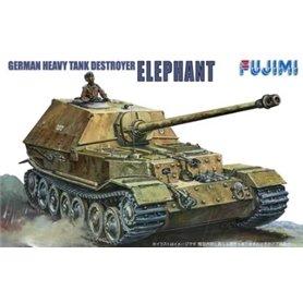 """Fujimi 761015 WA-5 1/76 German destroyer tank """"Elephant"""""""