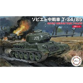 Fujimi 1:76 T-34/85 - JAPANESE MEDIUM TANK - 2 modele