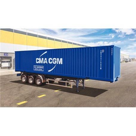Italeri 1:24 40 Container Trailer