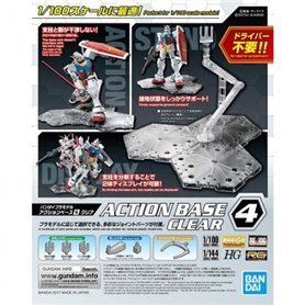 Bandai 88142 Action Base 4 Clear GUN58814