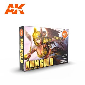 AK Intertive NMM (Non Metallic Metal) GOLD Set