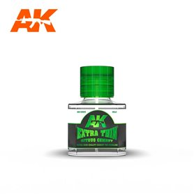 AK Interactive 12003 Klej do plastiku o zapachu cytrusowym EXTRA THIN - CITRUS CEMENT - 40ml