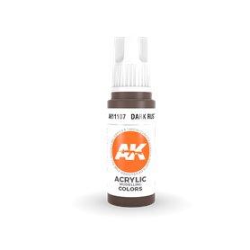 AK 3rd Generation Acrylic Dark Rust 17ml