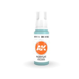 AK 3rd Generation Acrylic Snow Blue 17ml