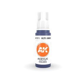 AK 3rd Generation Acrylic Ultramarine 17ml