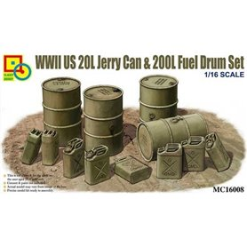 Classy 16008 WWII US20L Jerry can & drum 1/16