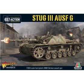 Bolt Action Pojazd pancerny Sturmgeschutz StuG.III Ausf.G - GERMAN ASSAULT GUN