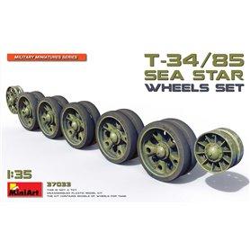 Mini Art 37033 T-34/85 Sea Star wheels set