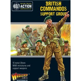 Bolt Action Commandos Support Group (HQ, Mortar & MMG)