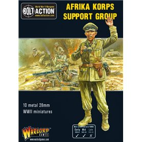 Bolt Action AFRIKA KORPS SUPPORT GROUP - HQ + MORTAR + MMG