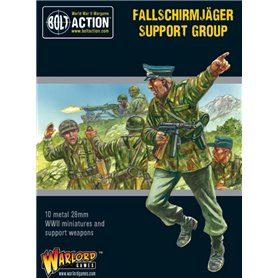 Bolt Action FALLSCHIRMJAGER SUPPORT GROUP - HQ + MORTAR + MMG