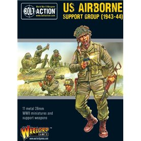 Bolt Action US AIRBORNE SUPPORT GROUP - 1943-1944 - HQ + MORTAR + MMG