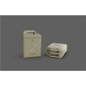Eureka XXL 1:35 Kanistry do przechowywania paliwa dla US Army WWII