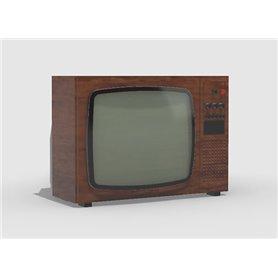 Eureka XXL 1:35 Telewizor kineskopowy 25 cali w starym stylu