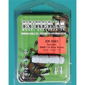 Eureka XXL 1:35 Liny holownicze i zawiesia do trałów minowych do BMR-1