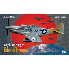 Eduard 11142 Very Long Range : Tales of Iwojima P-51D Limited Edition