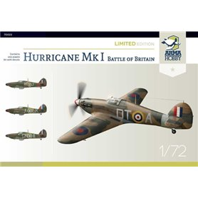 Arma Hobby 1:72 Hawker Hurricane Mk.I - BATTLE OF BRITAIN - LIMITED EDITION