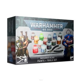 Warhammer 40000 PAINTS + TOOLS