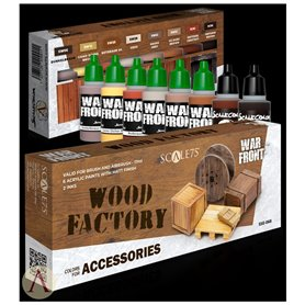 Scale 75 Zestaw farb WOOD FACTORY