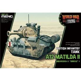 Meng WWT-014 World War Toons A12 Matilda II