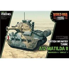 Meng WORLD WAR TOONS - A12 Matilda II - BRITISH INFANTRY TANK