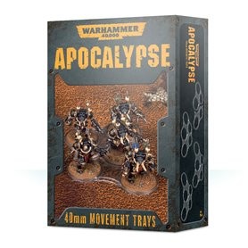 Wh40k Apocalypse Movement Trays 40mm