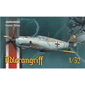 Eduard 1:32 Messerschmitt Bf-109E ADLERANGRIFF - LIMITED EDITION