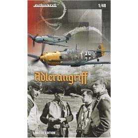 Eduard 1:48 Messerschmitt Bf-109E ADLERANGRIFF - LIMITED EDITION