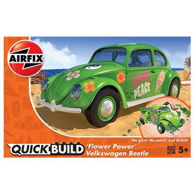 Airfix KLOCKI QUICKBUILD VW Beetle FLOWER-POWER