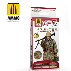 Ammo of MIG Splinter Camouflage Colors Set