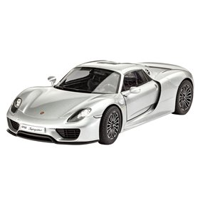 Revell 05681 Porsche Panamera and 918 Spyder Model Kit Gift Set